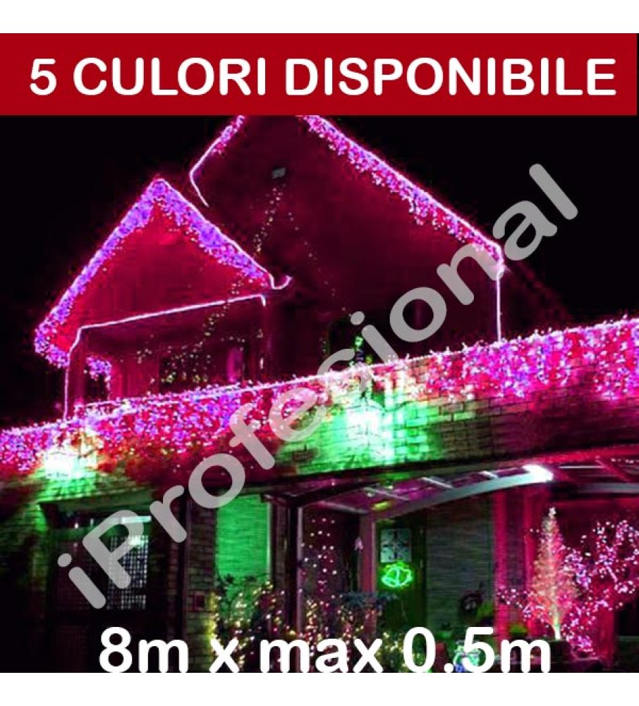 PERDEA TURTURI IPROFESIONAL, 8M X MAX 0.5M, EXTERIOR, IDEC160LFALALL